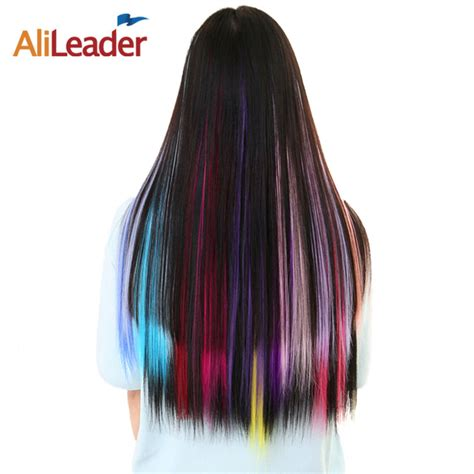 Alileader Hair Products One Clip Hairpiece Synthetic Hair