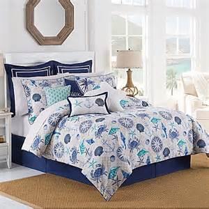 williamsburg barnegat coastal comforter set in blue bed bath beyond