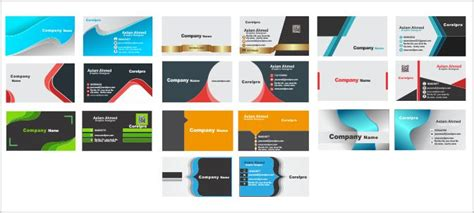 business cards templates corelpro