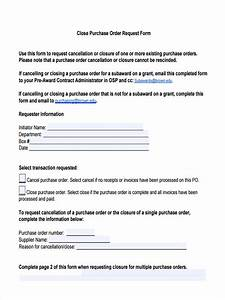 Purchase Order Format Sample Free 12 Purchase Order Request Forms In Pdf Ms Word Excel