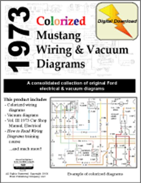 Forel Publishing Llc Colorized Mustang Wiring