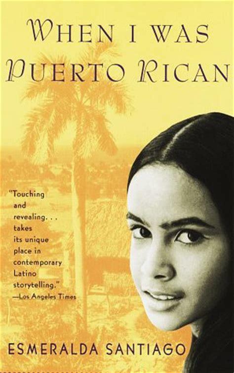 puerto rican  esmeralda santiago reviews