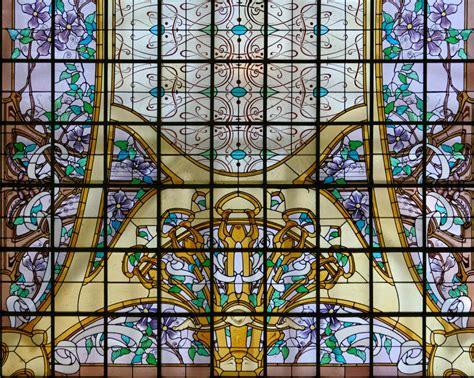 siege social lcl vitrail vitraux de l 39 ecole de nancy meurthe et moselle