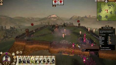 2 total war siege total war shogun 2 fall of the samurai siege original