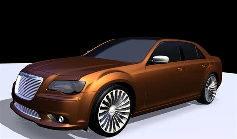 Chrysler Car : 2013 Chrysler 300 Turbine Concept
