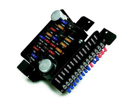 painless 12 circuit wiring diagram painless fuse block painless wiring 30003 circuit fuse block autoplicity