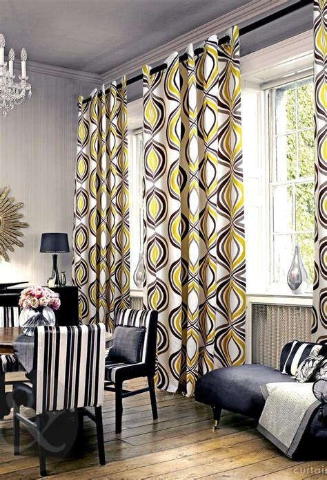Deco Drapes - 132 best images about curtains and wallpaper on