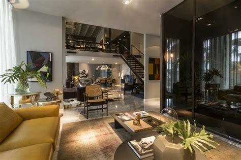 chambre a coucher contemporaine design loft au design éclectique en guise de villa de vacances