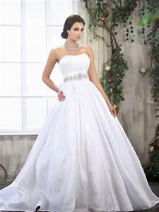 Strapless wedding dresses ball gown lace hd wallpaper for Ballroom gown wedding dress