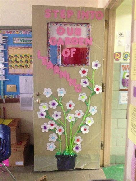 classroom door for spring bulletin boards pinterest