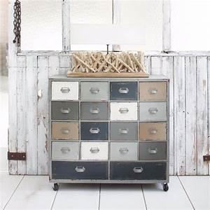 Cabinet Maison Du Monde : cabinet de rangement roulettes maisons du monde pickture ~ Nature-et-papiers.com Idées de Décoration