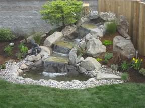 designer wasserspiele landscape design advice creating waterfall in your garden