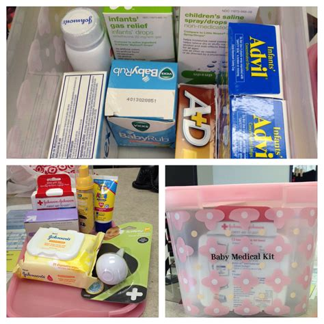 Baby Shower Gift Idea Baby Medical Kit Include Infant