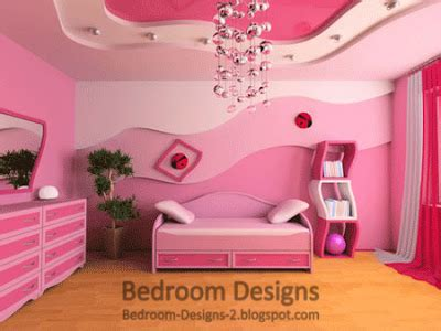 5 pink bedroom designs