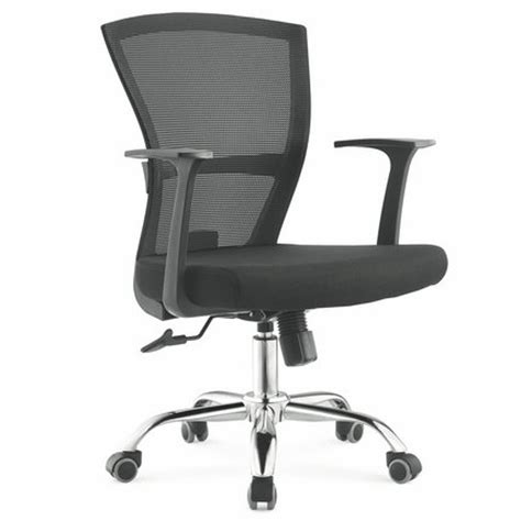 comfortable cheap black staff mesh office chair meeting