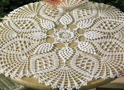 modele crochet nappe gratuit 2