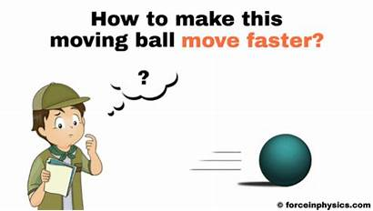 Force Definition Ball Examples Move Physics Example