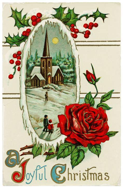 design shop  printable vintage postcard  joyful