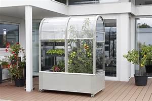 Gewächshaus Für Balkon : urban gardening mit dem neuen balkon gew chshaus terra ~ Michelbontemps.com Haus und Dekorationen