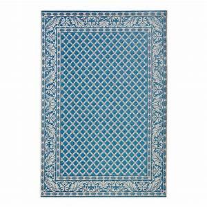 Tapis D Intérieur : tapis d 39 int rieur et d 39 ext rieur royal fibres synth tiques bleu 160 x 230 cm top square ~ Melissatoandfro.com Idées de Décoration