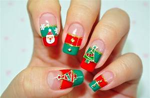50 Christmas Nail Art Designs and Trends 2016 – Page 2 ...