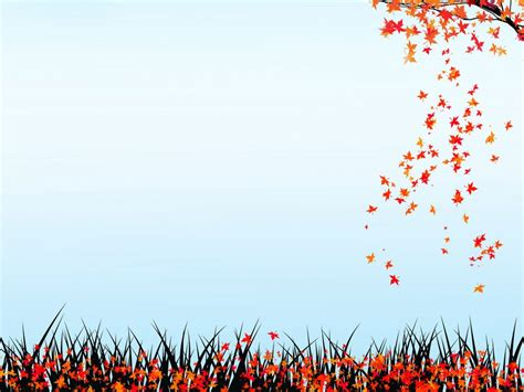 Power Point Backgrounds Autumn Nature Backgrounds Nature Templates
