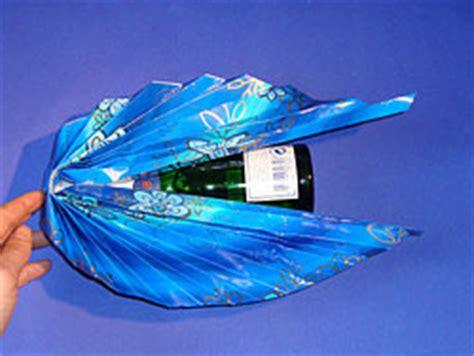 flaschen originell verpacken selber machen flaschen verpacken basteln gestalten