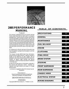 2005 Polaris 700 Xc Sp Edge Snowmobile Service Repair Manual