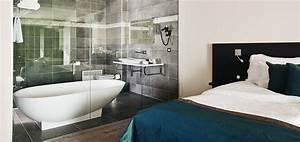 Chambre Salle De Bain : une salle de bains dans la chambre une bonne id e o blog ~ Dailycaller-alerts.com Idées de Décoration