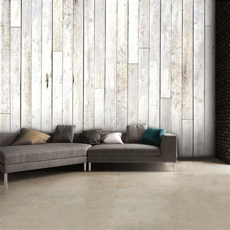 shabby chic wall mural shabby chic coloured wooden panel wall mural 315cm x 232cm