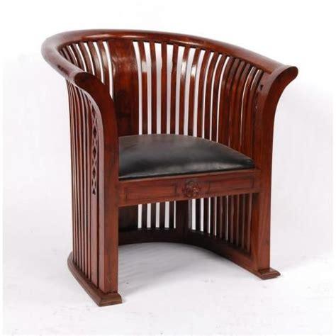 fauteuil teck et cuir fauteuil teck et croute de cuir cl 233 opatre