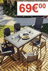 Table De Jardin Brico Depot : beautiful table de jardin pliante brico contemporary ~ Dailycaller-alerts.com Idées de Décoration