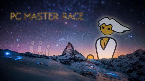 pc master race  ultra hd wallpaper background image