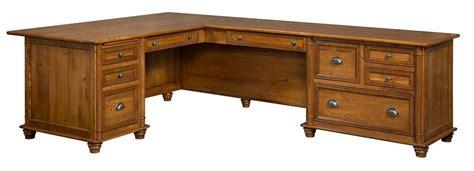 solid wood corner desk home office amish corner computer desk l shaped traditional solid wood