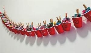 Basteln Mit Plastikbechern : 71 kreative ideen f r adventskalender selber basteln ~ Watch28wear.com Haus und Dekorationen