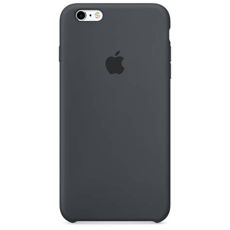 apple iphone 6 cases iphone 6s plus silicone charcoal gray apple
