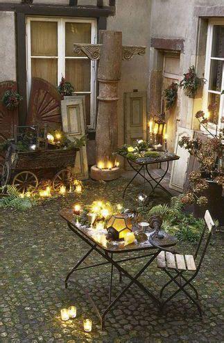 la magie des decorations de noel  lexterieur