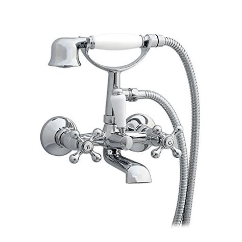 rubinetti per vasca da bagno enki traditional cross handle rubinetti per vasca da bagno