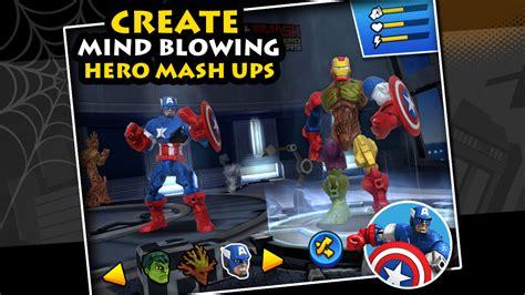 mixsmash marvel mashers apk  mod unlimited money
