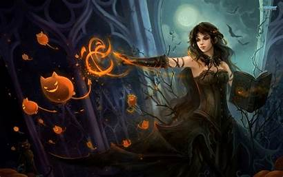 Wallpapers Witches Witch Witchcraft Fantasy