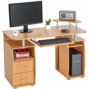 Office Günstig Kaufen : computertisch 115x55x87cm g nstig online kaufen tectake office in 2019 computertisch ~ Watch28wear.com Haus und Dekorationen