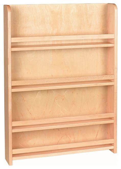 Wooden Spice Rack With Door by Century Components Sras18pf Wood Door Mount Kitchen Spice