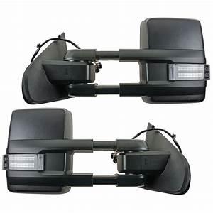Tow Mirror Power Folding Heated Led Signal Marker