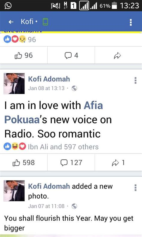 modern radio adom fm kofi adoma hints of his for afia pokuaa the guardian news