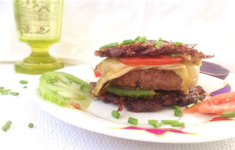 paillasson cuisine paillasson burger au nectaire blogs de cuisine