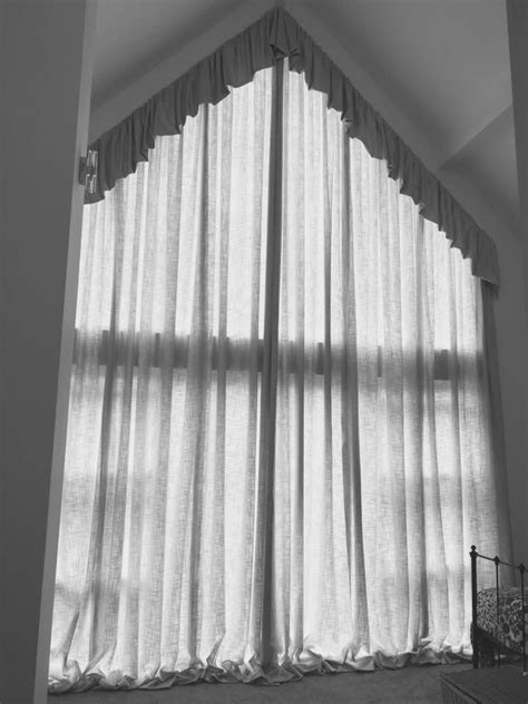 8 best Odd shaped window treatments images on Pinterest