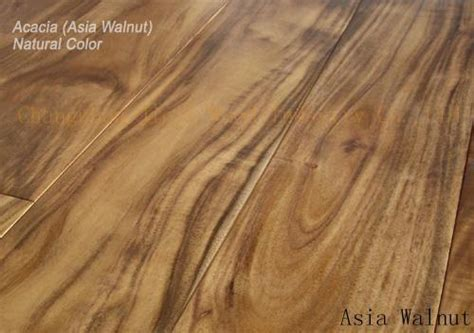 Asian walnut(Acacia) flooring Natural color (China
