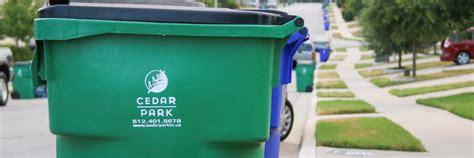 Trash, Recycling, & Solid Waste Services  City Of Cedar Park, Texas