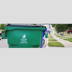 Trash, Recycling, & Solid Waste Services  City Of Cedar Park, Texas