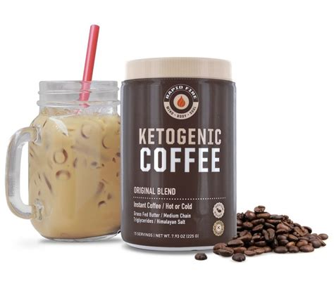 Commonly used in intermittent fasting, keto butter coffee gives plenty of energy and a great satiated feeling throughout the morning fasting hours. Rapid Fire Original Ketogenic Coffee | FitKing